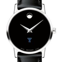 Yale University Women's Movado Museum with Leather Strap