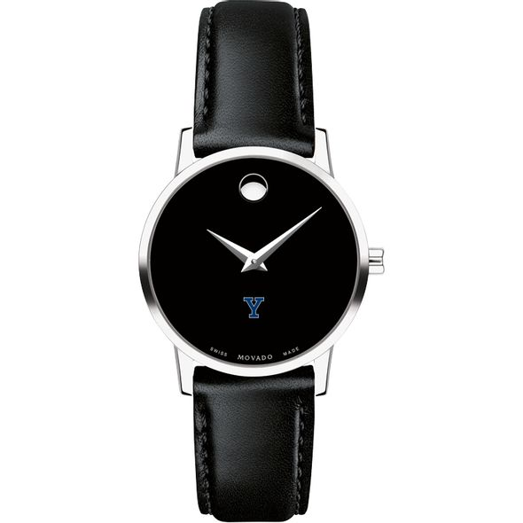 Yale University Women's Movado Museum with Leather Strap - Image 2