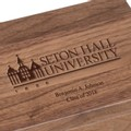 Seton Hall Solid Walnut Desk Box - Image 2