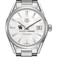 Houston Women's TAG Heuer Steel Carrera with MOP Dial