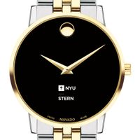 NYU Stern Men's Movado Two-Tone Museum Classic Bracelet