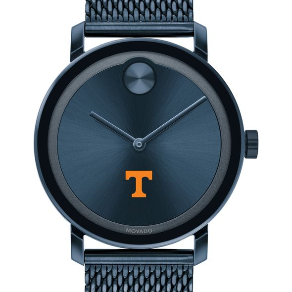 Tennessee Men's Movado Bold Blue with Mesh Bracelet - Image 1