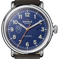 Emory Shinola Watch, The Runwell Automatic 45mm Royal Blue Dial