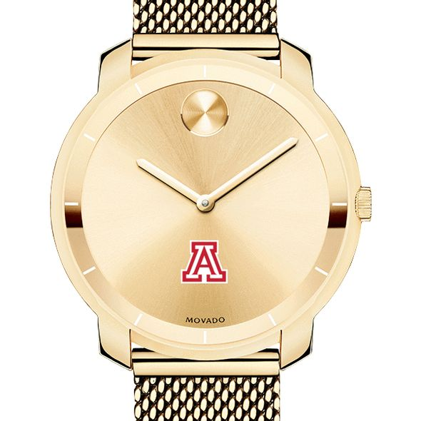 University of Arizona Women's Movado Gold Bold 36