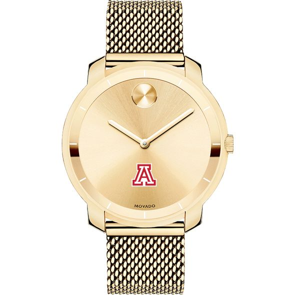 University of Arizona Women's Movado Gold Bold 36 - Image 2