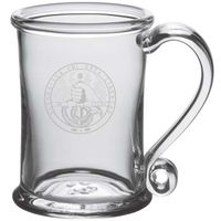 Davidson College Glass Tankard by Simon Pearce