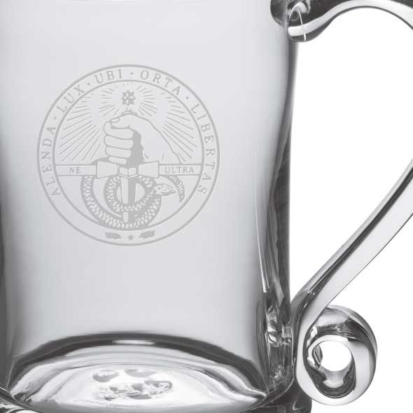 Davidson College Glass Tankard by Simon Pearce - Image 2