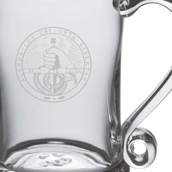 Davidson College Glass Tankard by Simon Pearce - Image 2