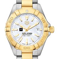 NYU Stern TAG Heuer Two-Tone Aquaracer for Women