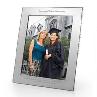 Carnegie Mellon University Polished Pewter 8x10 Picture Frame