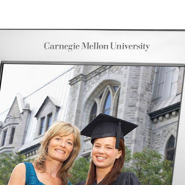 Carnegie Mellon University Polished Pewter 8x10 Picture Frame - Image 2