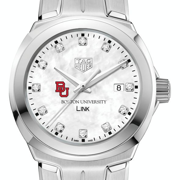 Boston University TAG Heuer Diamond Dial LINK for Women