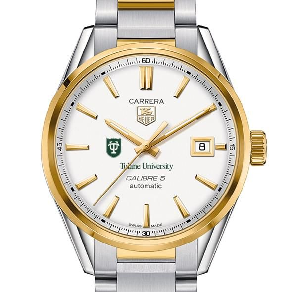 Tulane Men's TAG Heuer Two-Tone Carrera with Bracelet