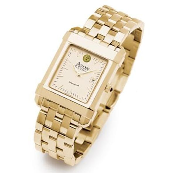 Avon Old Farms Men's Gold Quad Watch with Bracelet - Image 2