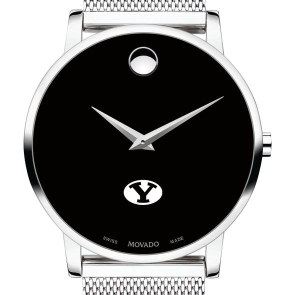 Brigham Young University Men's Movado Museum with Mesh Bracelet