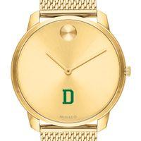 Dartmouth Men's Movado Bold Gold 42 with Mesh Bracelet