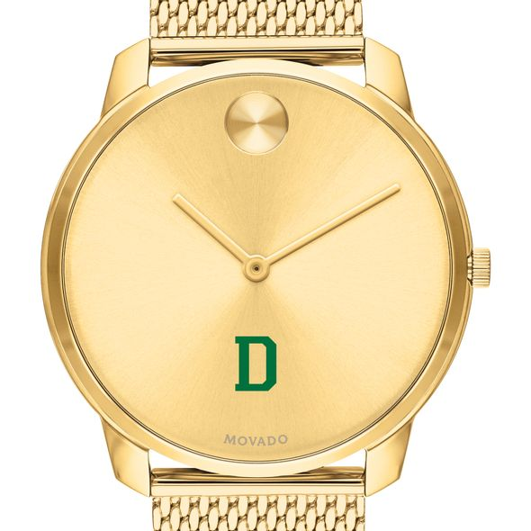 Dartmouth Men's Movado Bold Gold 42 with Mesh Bracelet - Image 1