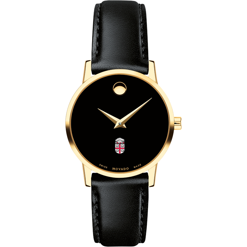 Brown Women's Movado Gold Museum Classic Leather - Image 2