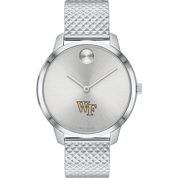 Wake Forest University Women's Movado Stainless Bold 35 - Image 2