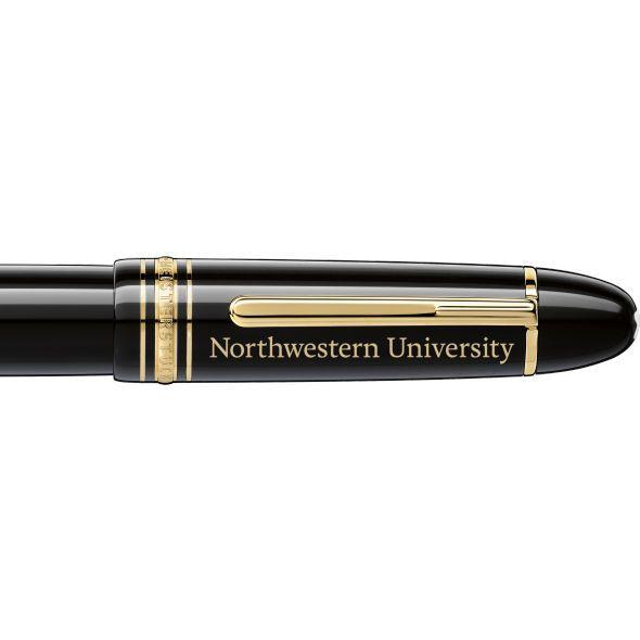 Northwestern Montblanc Meisterstück 149 Fountain Pen in Gold - Image 2