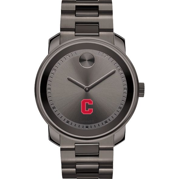 Cornell University Men's Movado BOLD Gunmetal Grey - Image 2