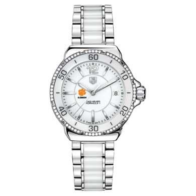Clemson Women's TAG Heuer Formula 1 Ceramic Diamond Watch