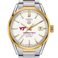 Virginia Tech Men's TAG Heuer Two-Tone Carrera with Bracelet
