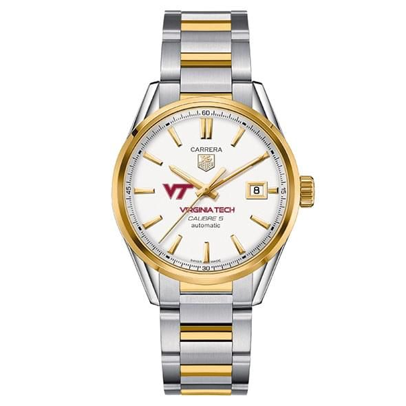 Virginia Tech Men's TAG Heuer Two-Tone Carrera with Bracelet - Image 2