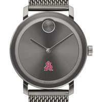 Arizona State Men's Movado BOLD Gunmetal Grey with Mesh Bracelet