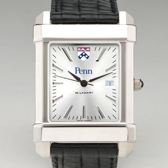 Wharton Men's Collegiate Watch with Leather Strap - Image 2
