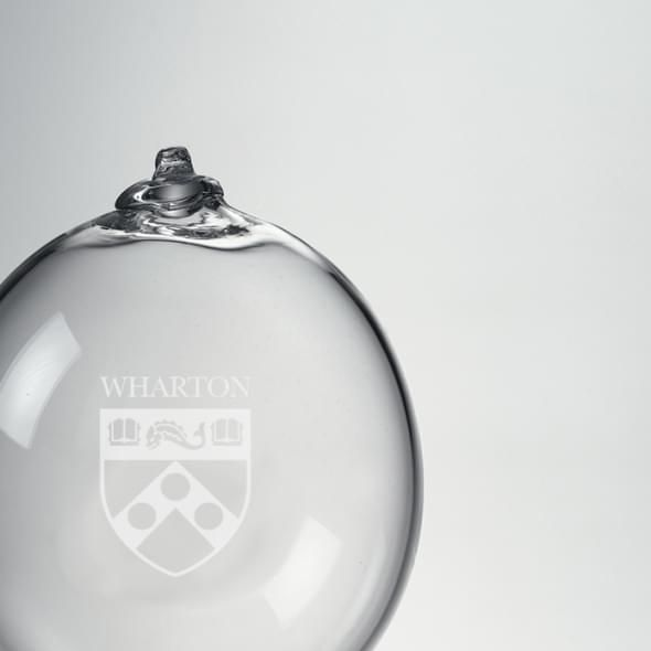 Wharton Glass Bauble Ornament by Simon Pearce - Image 2