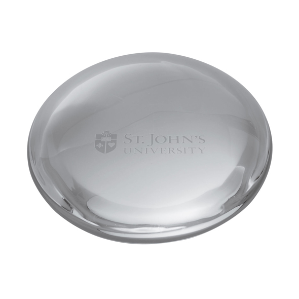 St. John's Glass Dome Paperweight by Simon Pearce