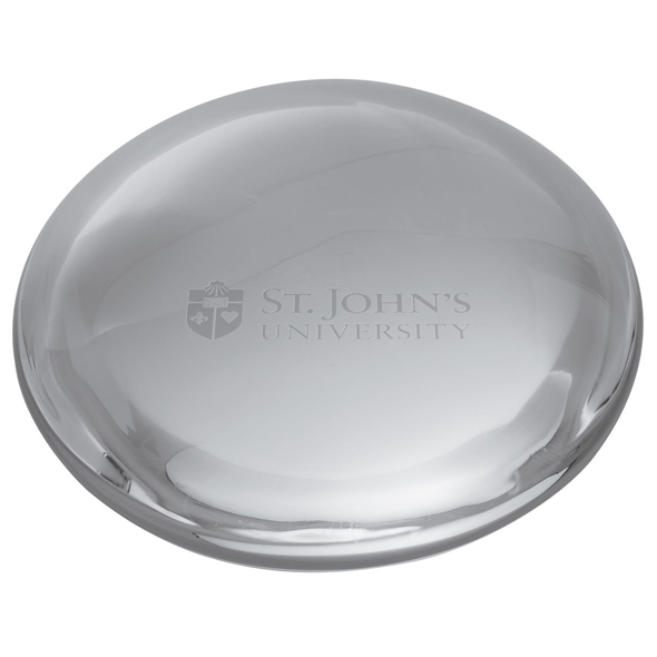 St. John's Glass Dome Paperweight by Simon Pearce - Image 2