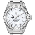 Oklahoma State University W's TAG Heuer Steel Aquaracer with MOP Dia Dial & Bezel - Image 1