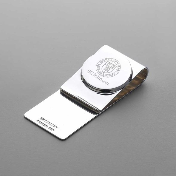 SC Johnson College Sterling Silver Money Clip
