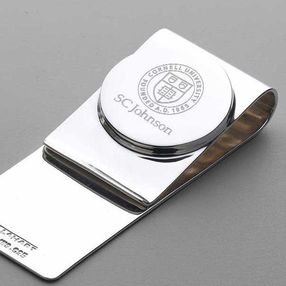 SC Johnson College Sterling Silver Money Clip - Image 2