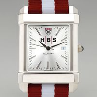 Harvard Business School Collegiate Watch with NATO Strap for Men