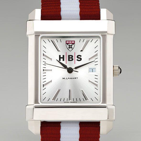 Harvard Business School Collegiate Watch with NATO Strap for Men