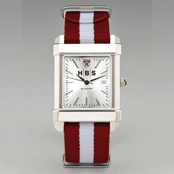 Harvard Business School Collegiate Watch with NATO Strap for Men - Image 2
