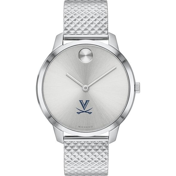 University of Virginia Women's Movado Stainless Bold 35 - Image 2