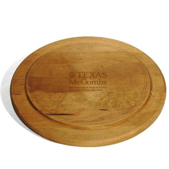 Texas McCombs Round Bread Server - Image 1