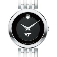 Virginia Tech Women's Movado Esparanza Stainless Steel Museum with Bracelet