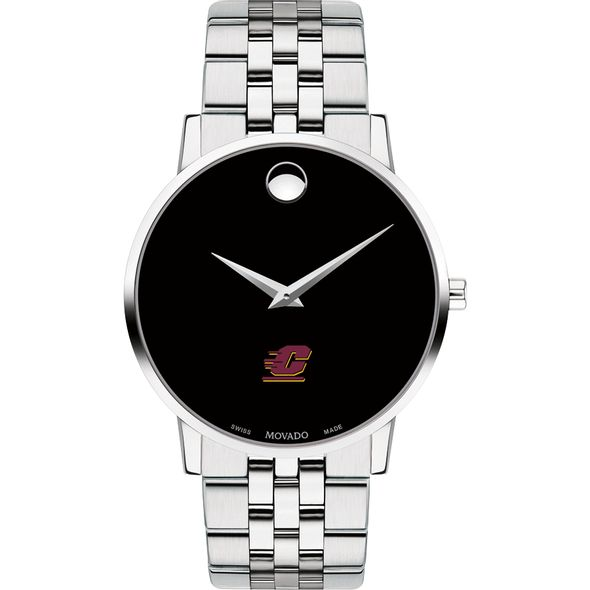 Central Michigan Men's Movado Museum with Bracelet - Image 2