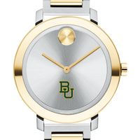 Baylor University Women's Movado Two-Tone Bold 34