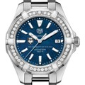 Chicago Women's TAG Heuer 35mm Steel Aquaracer with Blue Dial - Image 1