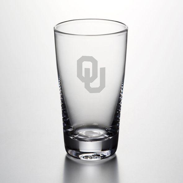 Oklahoma Pint Glass by Simon Pearce
