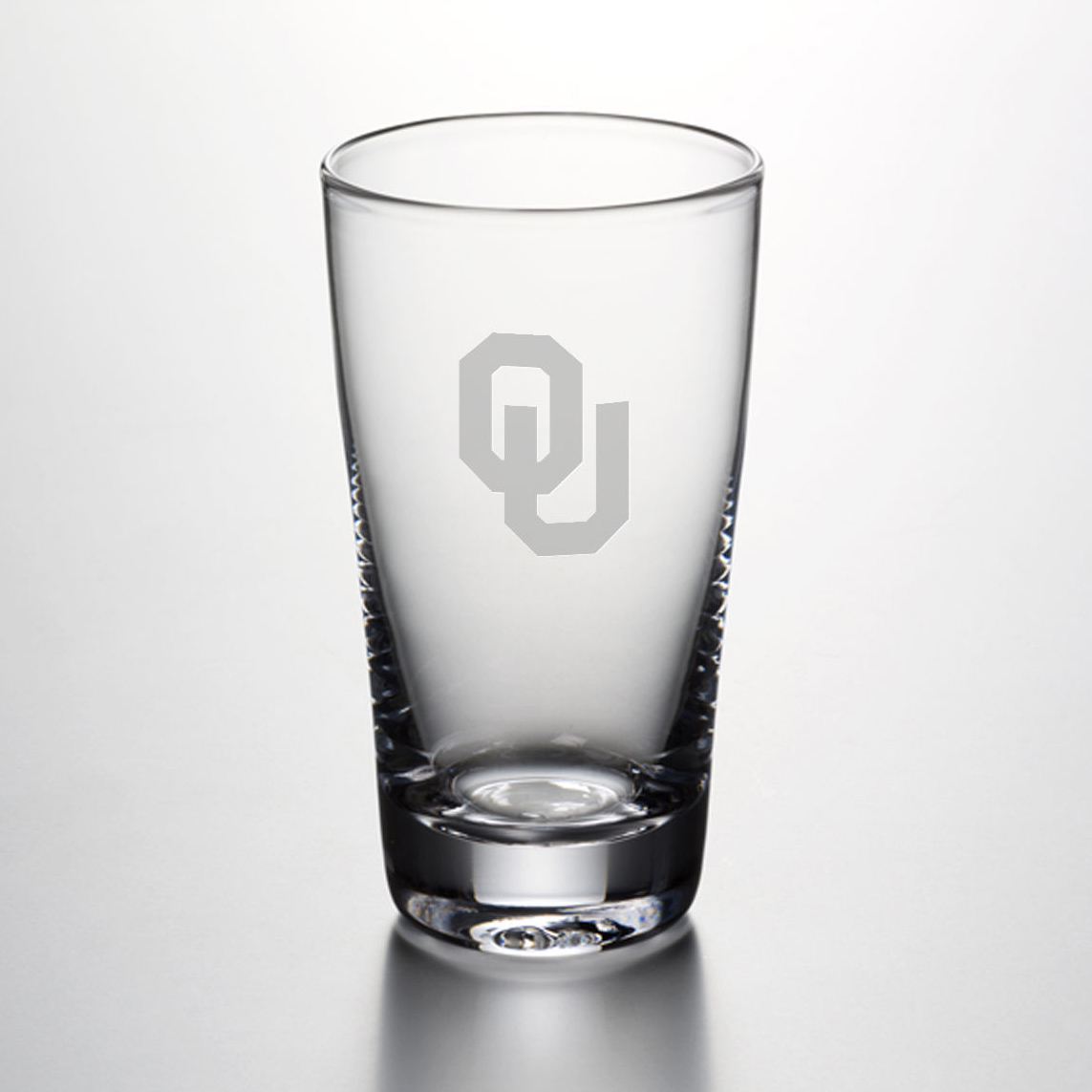 Oklahoma Pint Glass by Simon Pearce