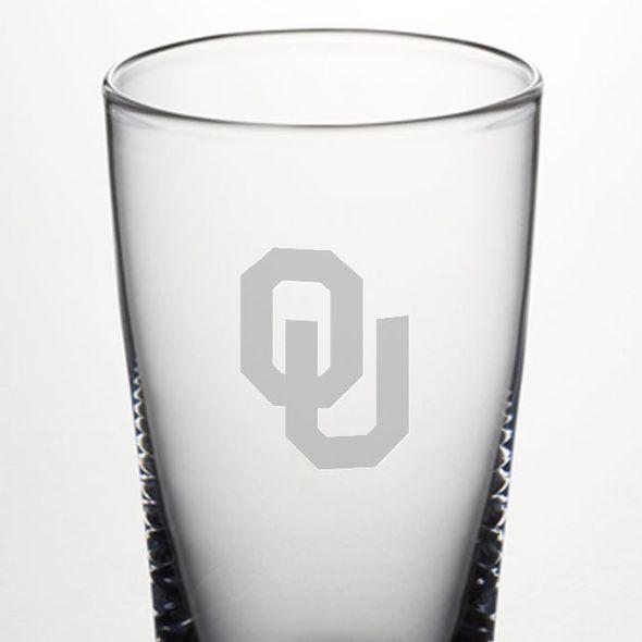 Oklahoma Pint Glass by Simon Pearce - Image 2