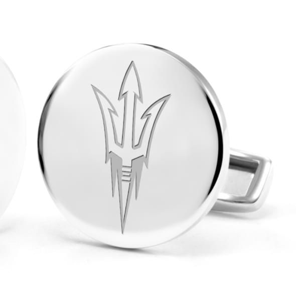 Arizona State Cufflinks in Sterling Silver - Image 2