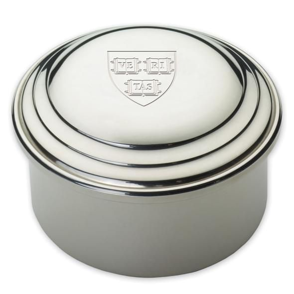 Harvard Pewter Keepsake Box - Image 2